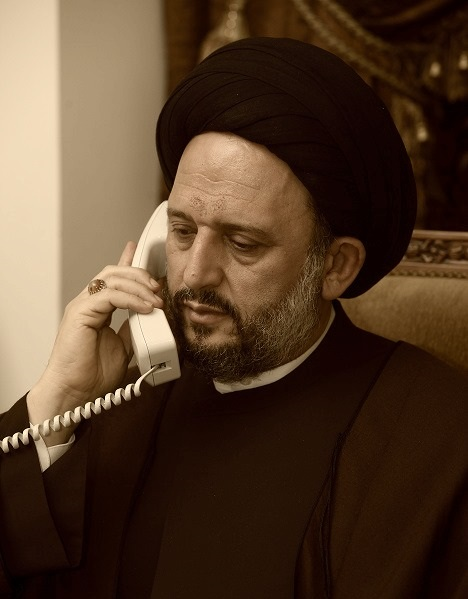 السيد علي فضل الله تلقى اتصالا
