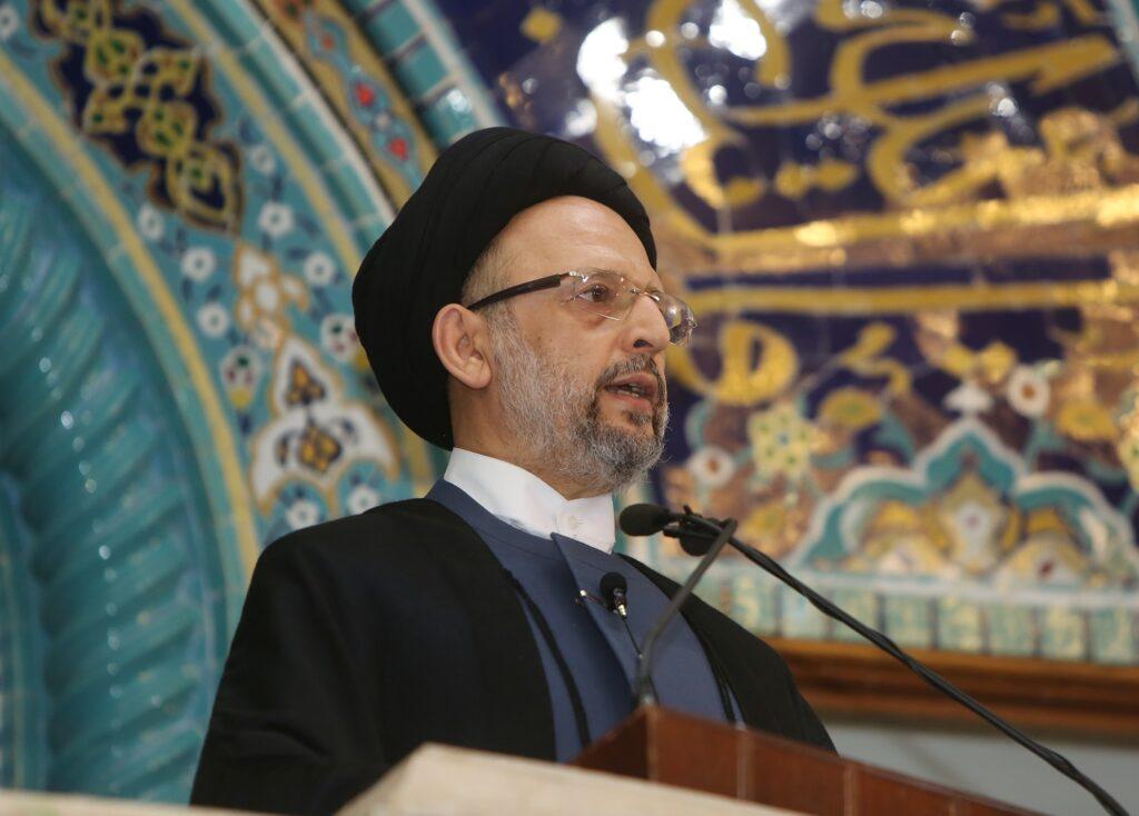 العلامة السيد علي فضل الله خطبة العيد