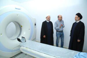 في زيارة تفقدية لمركز التآخي الطبي في حارة حريك فضل الله